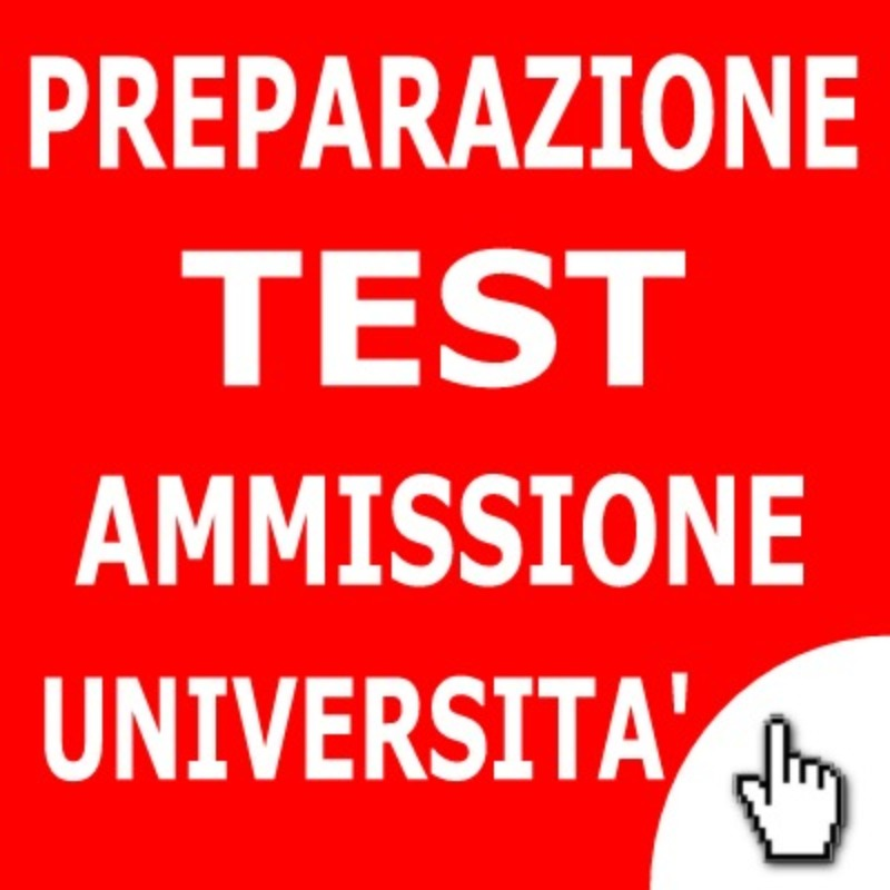 Avviso test universitari