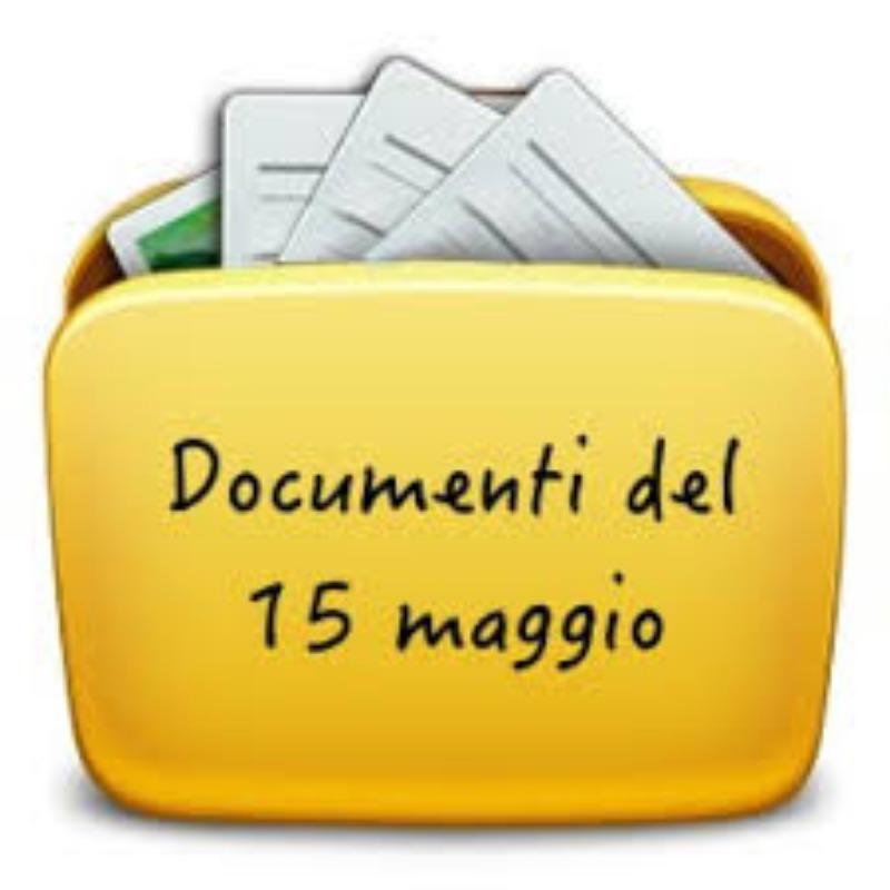 DOCUMENTI DEL 15 MAGGIO - ESAME DI STATO 2018 /2019